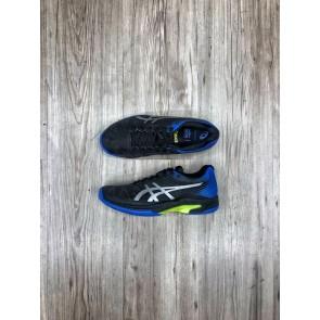 Scarpa Asics Gel Solution Speed FF da Uomo (Black/Illusion Blue) Clay Court